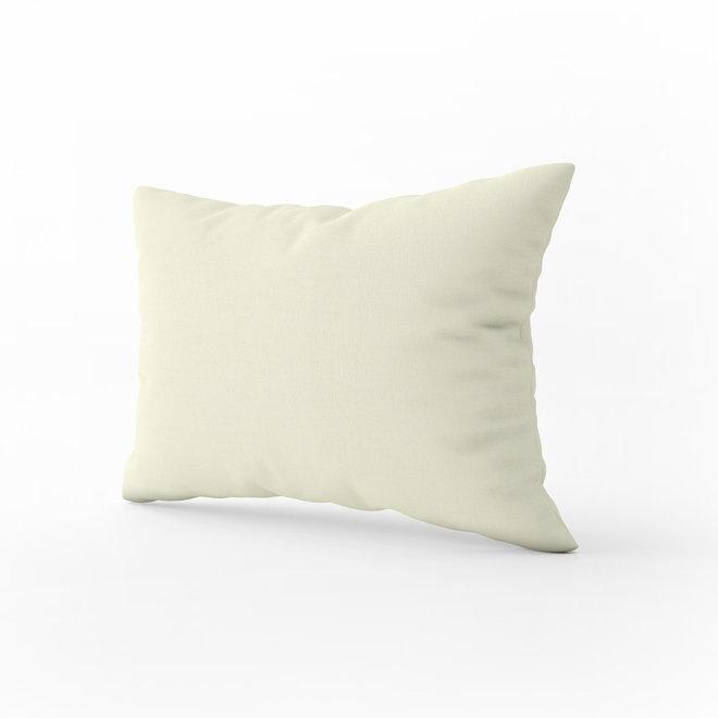 The One Kussensloop - Cream - 60 x 70 cm