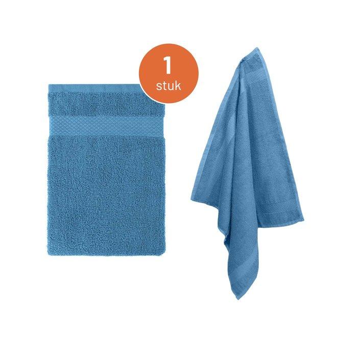 EM Kitchen Keukendoek - Blauw - 1 stuk - 50 x 50 cm - 100% Katoen