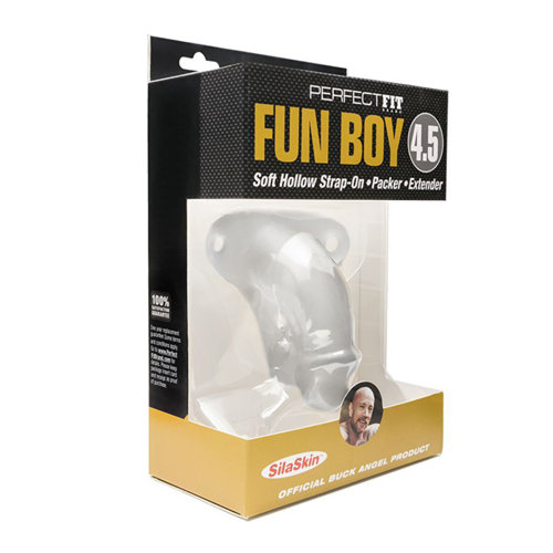 Perfect Fit Buck Angel Fun Boy™ Strap-on/Packer Penis