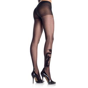 Leg Avenue Drakentattoo Panty - Zwart