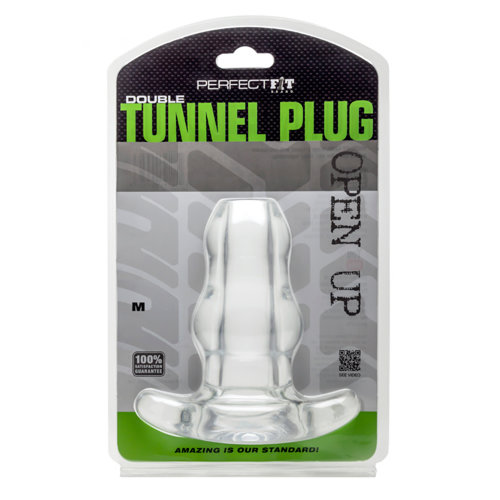 Perfect Fit Double Tunnel Plug - Transparant