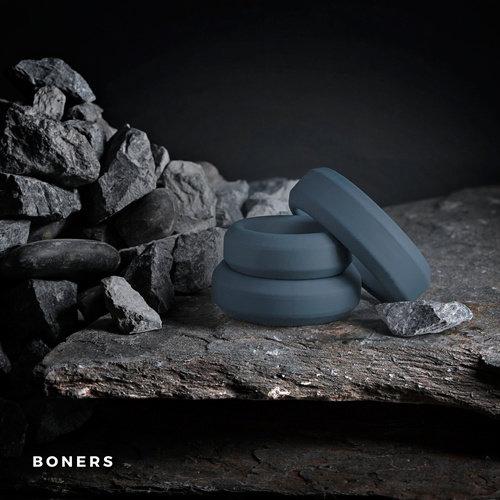 Boners Boners Cockring Set 3-delig