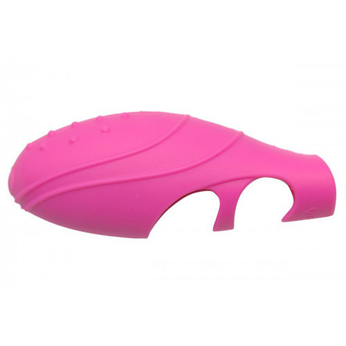 Frisky Siliconen G-Spot Vinger Vibrator - Roze