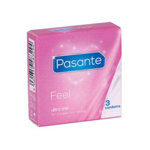 Pasante Pasante Feel Condooms - 3 stuks