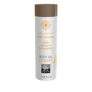 Shiatsu Luxe Eetbare Body Oil - Abrikoos & Duindoorn