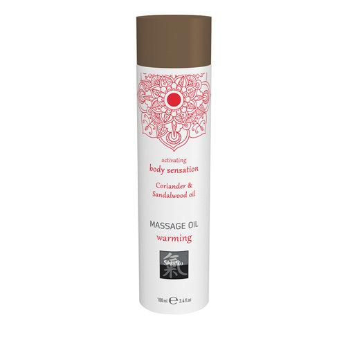 Shiatsu Verwarmende Massage Olie - Koriander & Sandelhout
