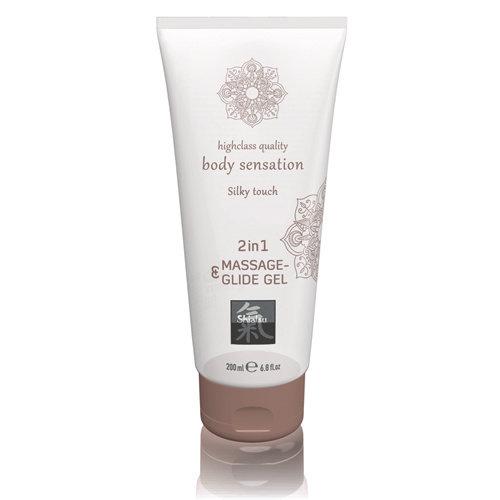 Shiatsu Massage- & Glide Gel 2 in 1 - Silky touch