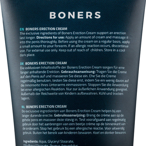 Boners Boners Erectiecrème