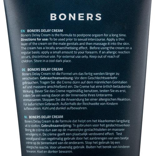 Boners Boners Orgasmevertragende Crème