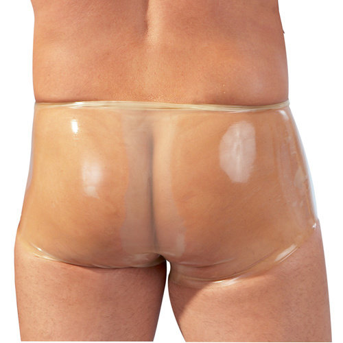 The Latex Collection Latex Boxer Met Penissleeve - Transparant