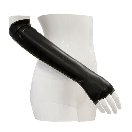 Guilty Pleasure GP Datex Lange Handschoenen - Zwart