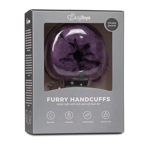 Easytoys Fetish Collection Bonten handboeien - paars