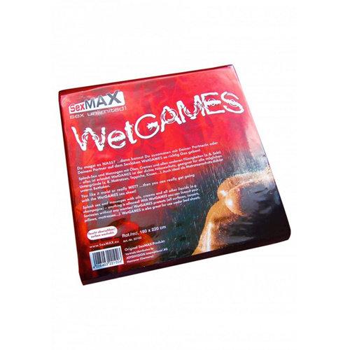 Joydivision SexMAX WetGAMES Laklaken 180 x 220 cm - Rood