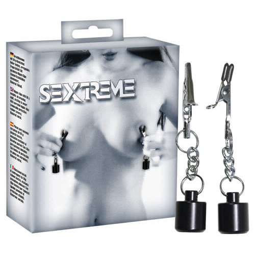 Sextreme Tepelklemmen met Gewichten - 50 gr