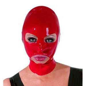 The Latex Collection Latex Hoofdmasker - Rood