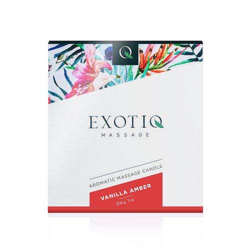 Exotiq Exotiq Massagekaars Vanille Amber - 200g