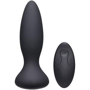A-Play Thrust Adventurous Stotende Buttplug - Zwart