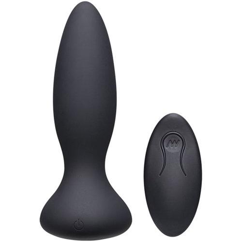 A-Play Vibe Adventurous Vibrerende Buttplug - Zwart