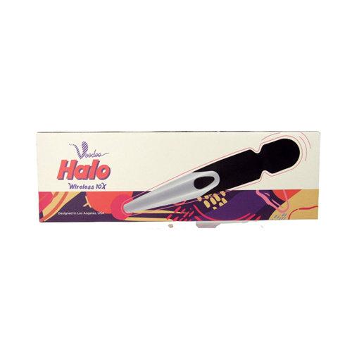 Voodoo Halo Wireless Wand Vibrator - Zwart