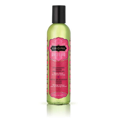 KamaSutra Kamasutra Naturals Strawberry Massage-Olie