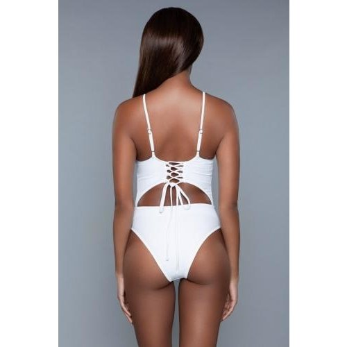 Be Wicked Swimwear Alina Monokini - Wit