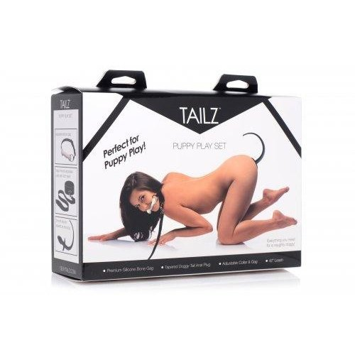 Tailz Puppy Play Set - 4 Delig