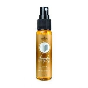 Sensuva Deeply Love You Throat Relaxing Spray - Salted Caramel