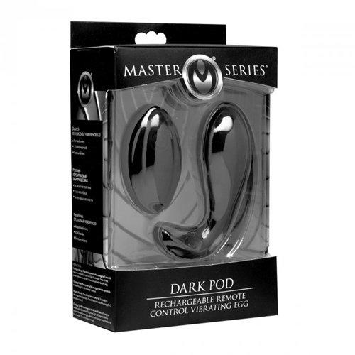 Master Series Dark Pod Vibrerend Eitje