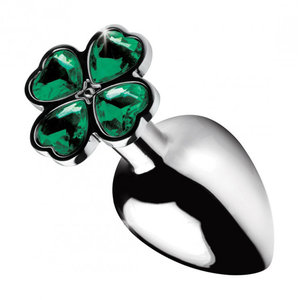 Booty Sparks Lucky Clover Buttplug