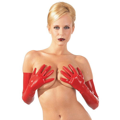 The Latex Collection Latex Handschoenen - Rood
