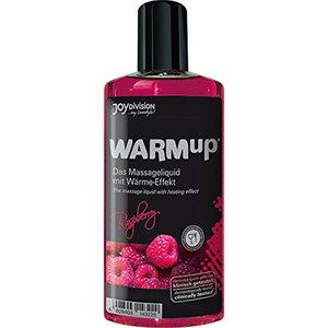 Joydivision Warm-Up Massage Olie - Framboos
