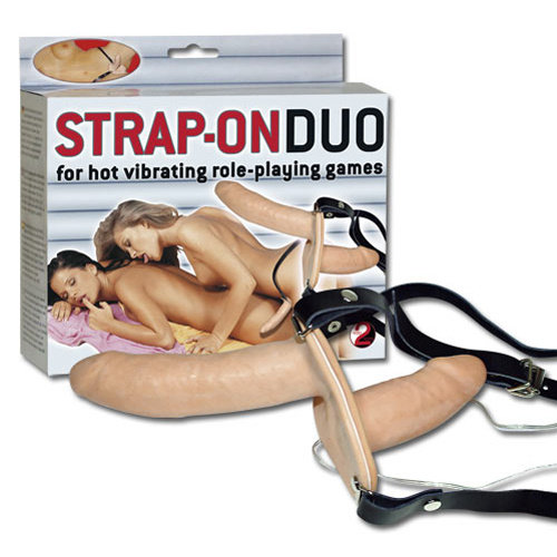 You2Toys Dubbel Vibrerende Strap-on