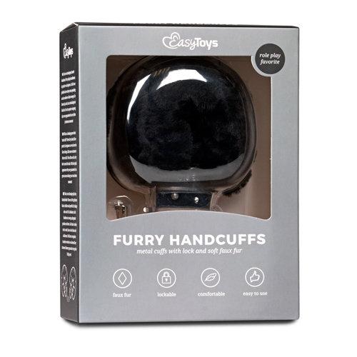 Easytoys Fetish Collection Bonten handboeien - zwart