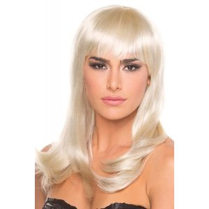 Be Wicked Wigs Hollywood Pruik - Blond