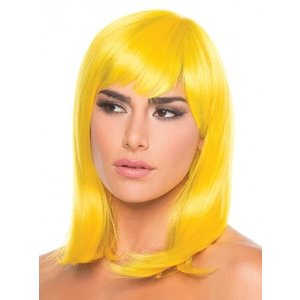 Be Wicked Wigs Doll Pruik - Geel