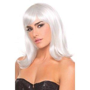 Be Wicked Wigs Doll Pruik - Wit