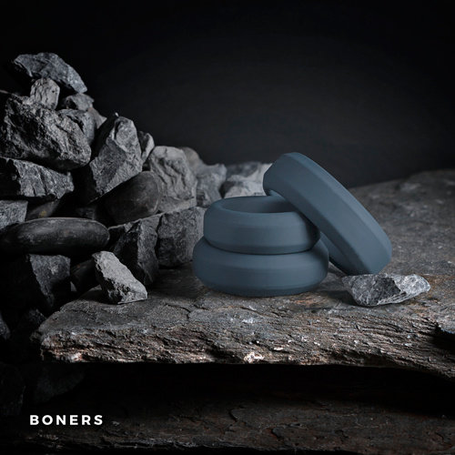 Boners Boners Cockring Set 3-delig
