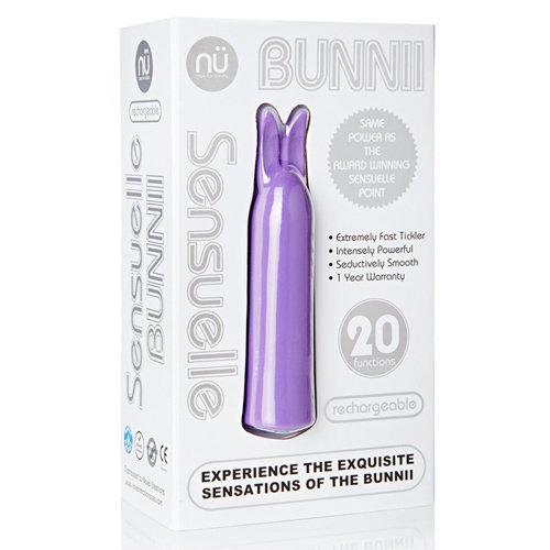 Nu Sensuelle Bunnii Mini Vibrator - Paars