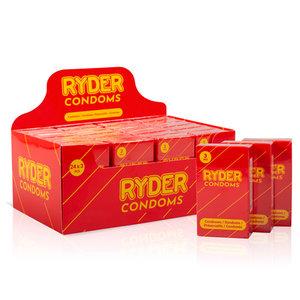 Ryder Ryder Condooms - 24 x 3 Stuks
