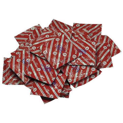 London Durex London Red - 100 Stuks