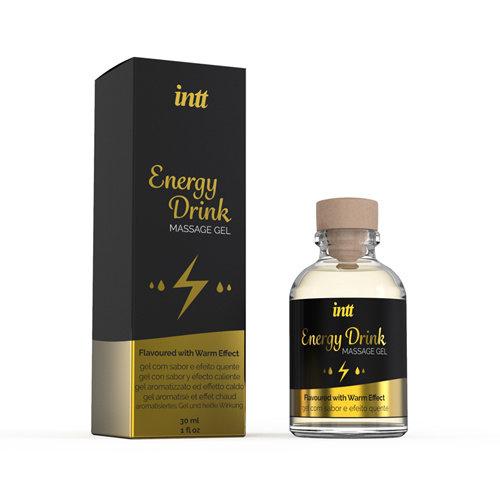 INTT Energy Drink Verwarmende Massage Gel
