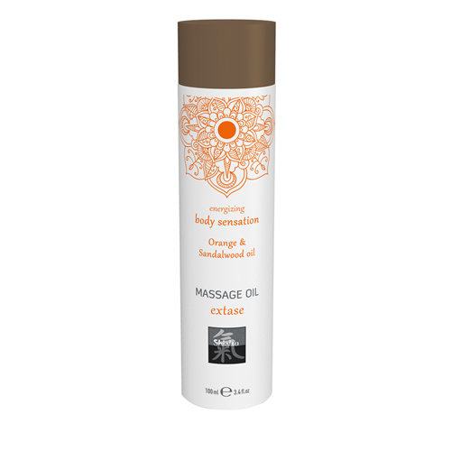 Shiatsu Extase Massage Olie - Sinaasappel & Sandelhout