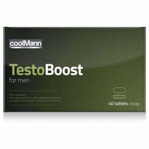 Coolmann CoolMann Testoboost - 40 stuks