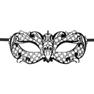 Easytoys Fetish Collection Easytoys Venetiaans Masker Metaal - Zwart