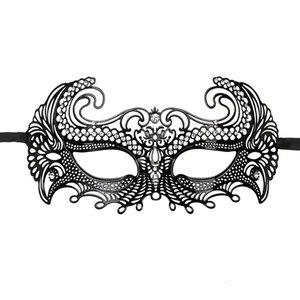 Easytoys Fetish Collection Easytoys Metalen Venetiaans Masker - Zwart