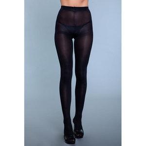 Be Wicked Perfect Nylon Panty - Zwart