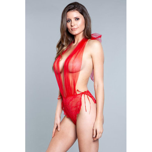 Be Wicked Alessandra Body - Rood