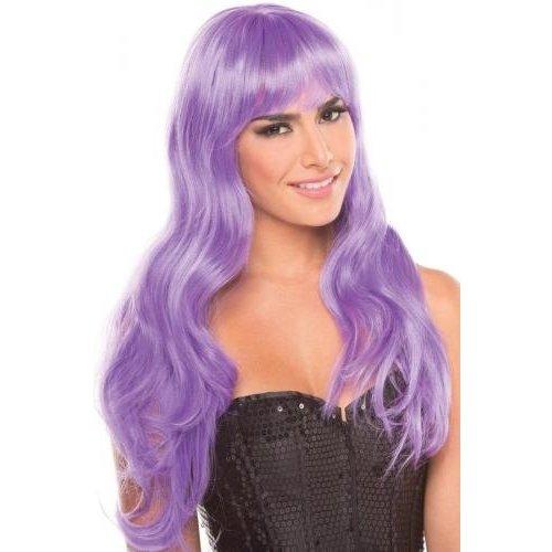 Be Wicked Wigs Burlesque Pruik - Lichtpaars