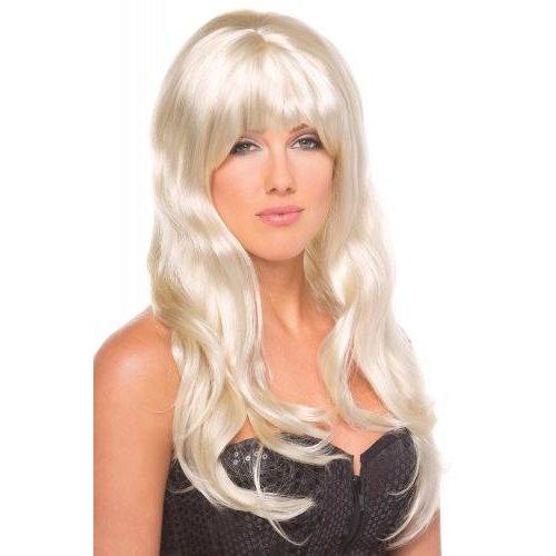 Be Wicked Wigs Burlesque Pruik - Blond