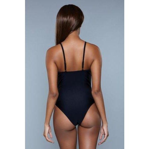Be Wicked Swimwear Delaney Badpak - Zwart